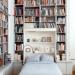 biblioteka / sypialnia