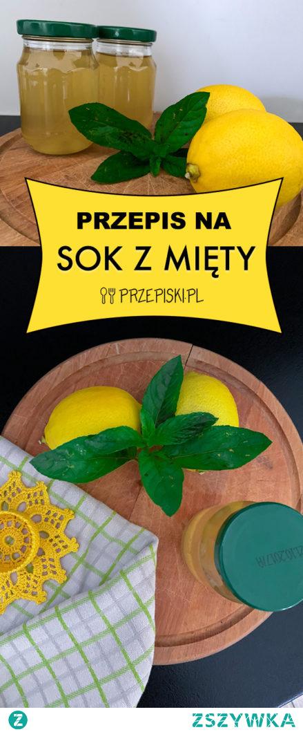 Sok z Mięty | Syrop z Mięty