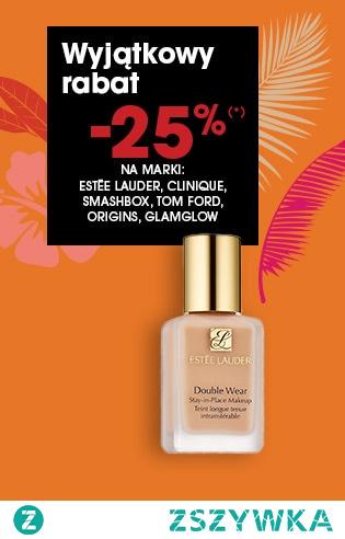 promocja -25% ESTEE LAUDER, SMASH BOX, ORIGINS!!!