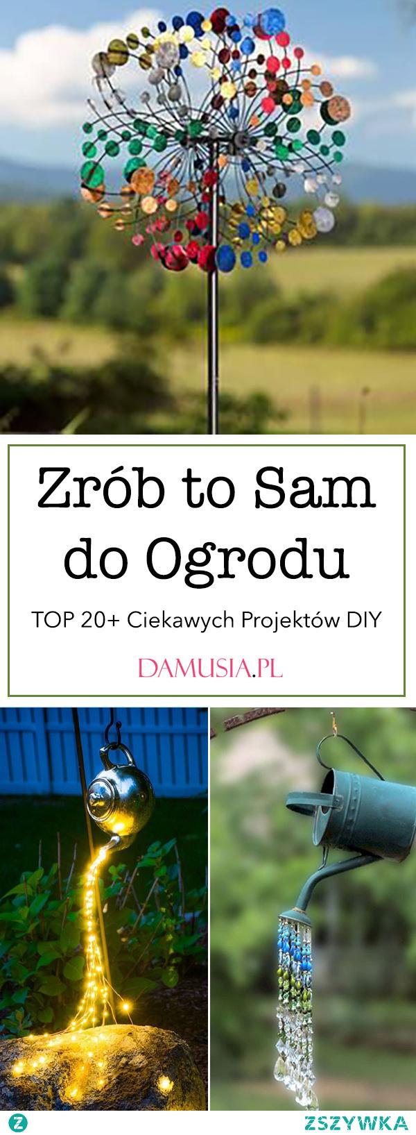 Zrób to Sam do Ogrodu – TOP 20+ Ciekawych Projektów DIY