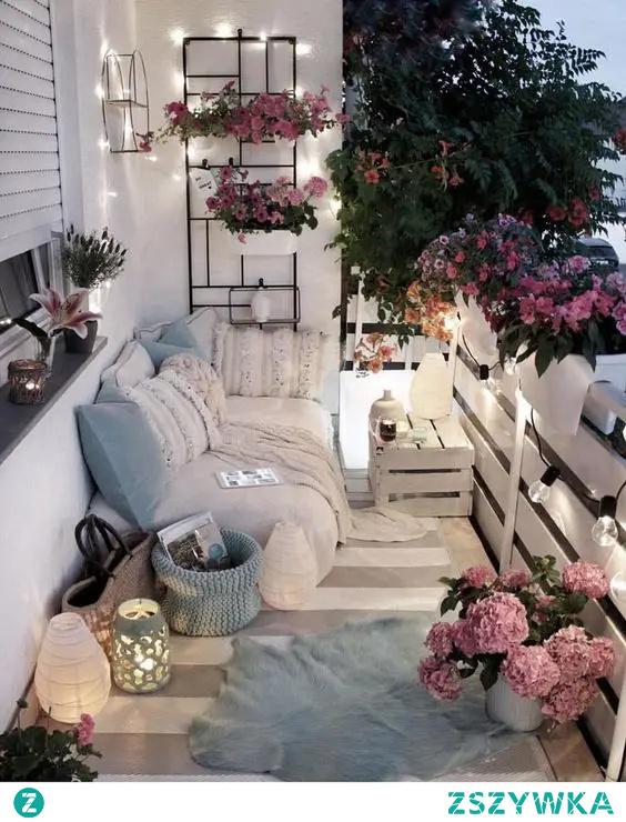 #balkon #kwiaty