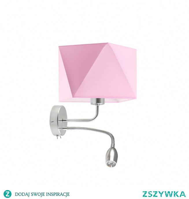 Lampa ścienna KENT zaprojektowana została z myślą o najmłodszych mieszkańcach naszego domowego zacisza. Lampę można umieścić w miejscu, które nie jest wystarczająco doświetlone przez główne źródło światła. Koncepcja lampy skupia w sobie integrację oryginalnego abażuru z prostym stelażem wyposażonym dodatkowo w panel LED. Dziecięca kolorstyka lampy a także jej nietypowa postać, to idealna metoda na dopełnienie dziecięcych aranżacji wnętrza - sprawdzi się zarówno w prywatnych pokojach dzieci jak i przedszkolnych salach. Kinkiet posiada 25 cm wysokości a jego szerokość po dodaniu panelu LED mierzy 34 cm.  Kinkiet dostępny jest w kilkunastu kolorach abażurów: biały, ecru, jasny szary (gołębi), miętowy, musztardowy, jasny różowy, jasny fioletowy, beżowy, szary (stalowy), czerwony, niebieski, fioletowy, zieleń butelkowa, granatowy, grafitowy, brązowy, czarny, szary melanż (tzw. beton) oraz 2 kolorach stelaża: chrom, stal szczotkowana.