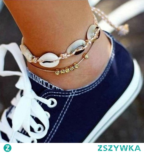 Dwie bransoletki na nogę do kupienia na Silvona.pl. Kliknij w zdjęcie, aby przejść do sklepu.