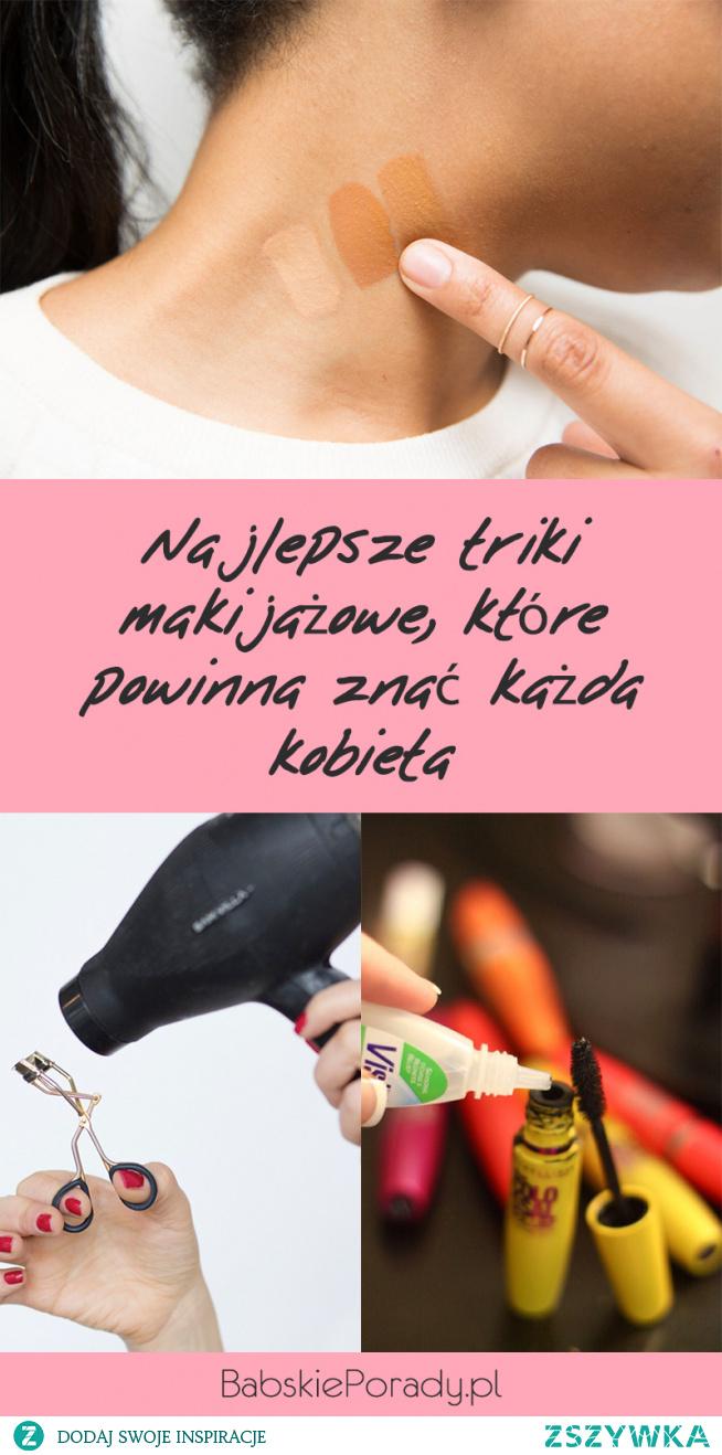 Najlepsze triki makijażowe, które powinna znać każda kobieta