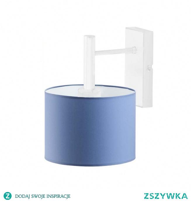 Kinkiet AKRA to idealny pomysł na dodatkowy punkt świetlny do pokoju Twojego malucha. Lampa ta stanie się nieocenioną pomocą podczas wieczornego zasypiania a także może posłużyć jako ciekawa dekoracja pomieszczenia. Delikatne barwy jakimi obdarowany jest ten kinkiet sprawią, że pomieszczenie nabierze czarodziejskiego klimatu niczym z bajki. Lampa dostosowana jest do źródeł światła o klasach energeycznych od A++ do E oraz żarówek LED.  Kinkiet dostępny jest w kilkunastu kolorach abażurów: biały, ecru, jasny szary (gołębi), miętowy, musztardowy, jasny różowy, jasny fioletowy, beżowy, szary (stalowy), czerwony, niebieski, fioletowy, zieleń butelkowa, granatowy, grafitowy, brązowy, czarny, szary melanż (tzw. beton) oraz 5 kolorach stelaża: biały, czarny, chrom, stal szczotkowana, stare złoto.