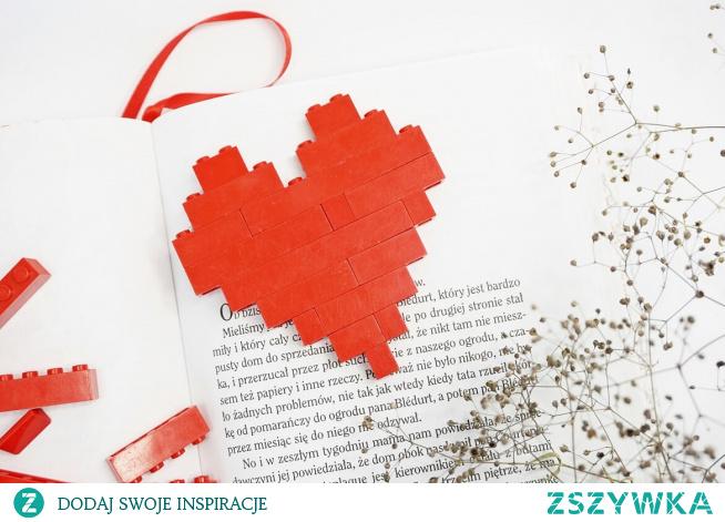 Serce z klocków LEGO HAART.pl