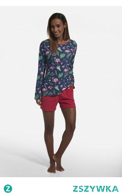 Piżama damska w promocyjnej cenie. Sprawdź ją w sklepie producenta Cornette. -10% na zakupy przy zapisie do newslettera.