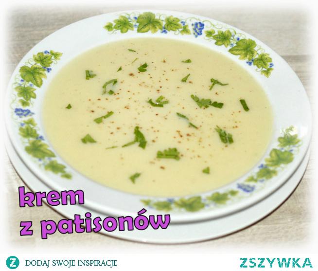 Zupa krem z patisonów