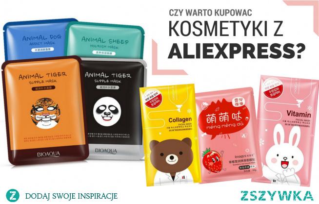 Cała prawda o kosmetykach z ALIEXPRESS! Zapraszam na krótką lekturę na bloga o kosmetykach za grosze. Czy jednak warto ryzykować?