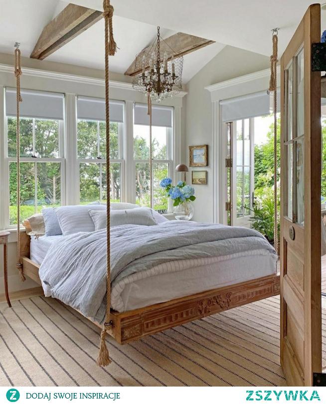 #sypialnia #podwieszane łóżko ❤❤❤
