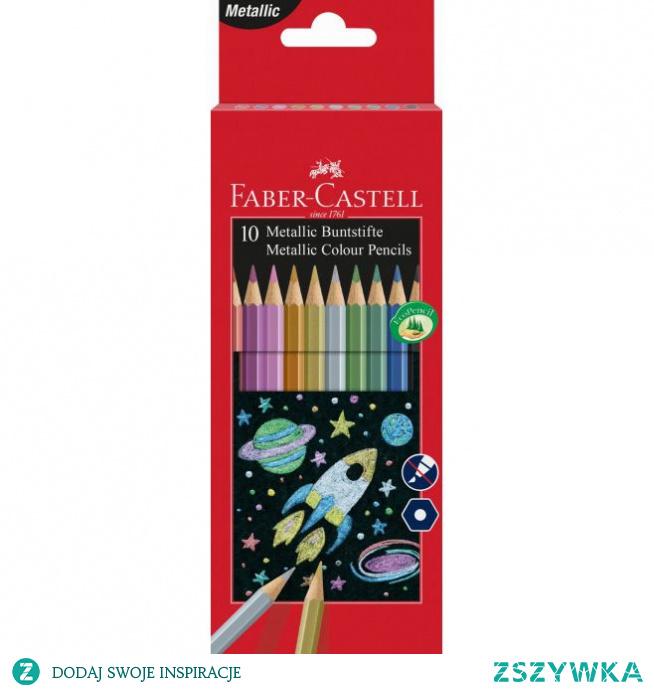 Kredki ołówkowe Faber-Castell Classic Color metaliczne - 10 kolorów