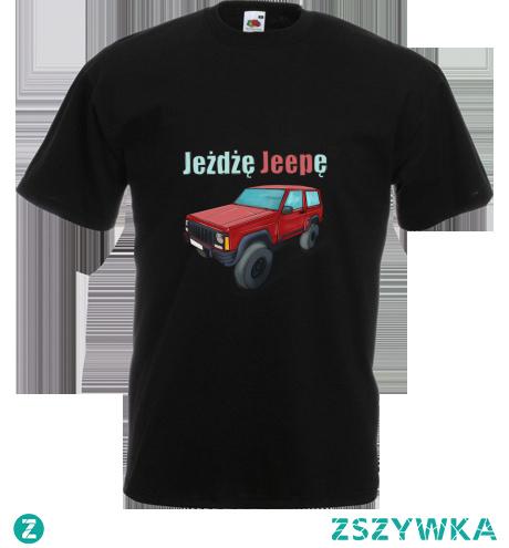 Koszulka dla miłośników jady terenowej. Dostępna po kliknięciu w sjlepie ZANBIA.