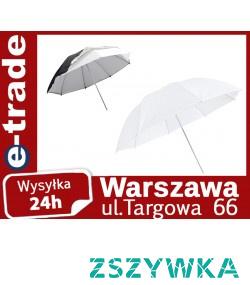 Potrzebna Ci parasolka softbox ale nie wiesz czy lepiej zdecydować się na taką w kolorze białym czy w czarnym? Kup zatem dwustronną!