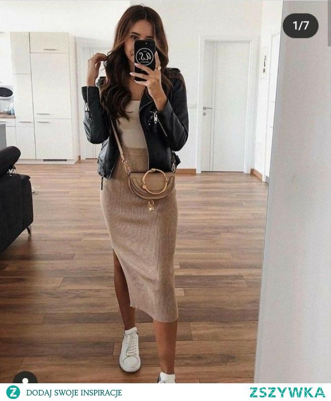 #spodnica#krem