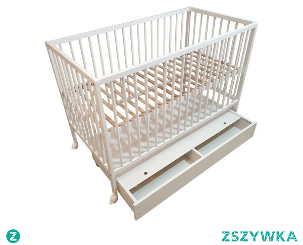 Szuflada do łóżeczka dziecięcego to dodatkowe miejsce na przechowywanie. Warto umieścić tam pościel lub inne elementy, które warto zawsze mieć pod ręką!