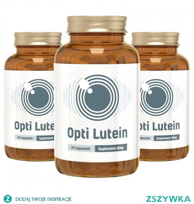 Opti Lutein składa się z najwyższej jakości naturalnych składników. Roślinne ekstrakty, minerały oraz witaminy połączone w jednej kapsułce dają niesamowite efekty. Opti Lutein chroni nasz wzrok w kompleksowy sposób i zapewnia jego prawidłowe funkcjonowanie w każdych warunkach. Opti Lutein zawiera sprawdzone naturalne substancje, które chronią i dbają o Twój wzrok, na czele z luteiną, zeaksantyną i witaminą A. Ich dawki zostały dobrane tak, by działały jak najbardziej synergicznie, uzupełniały się, a przez to dawały Ci jeszcze lepsze rezultaty. Całość zamknęliśmy w niewielkich, łatwych do połknięcia kapsułkach. Oczy narażone są na działanie wielu niekorzystnych czynników, jak promieniowanie UV, zanieczyszczenia, ciągła praca przy komputerze. Nasze oczy są często zmęczone, na ich stan mają wpływ choroby, jak również wiek. Z czasem może pojawić się gorsze widzenie np. po zmroku, suchość, podrażnienia i inne kłopoty. By im przeciwdziałać, opracowaliśmy Opti Lutein – preparat dla młodszych i starszych, dla Ciebie, jak i dla Twoich rodziców lub dziadków. Dla wszystkich, którzy chcą widzieć więcej! Podziwiaj piękno świata i ciesz się widokiem swoich bliskich. Czytaj i pracuj bez dyskomfortu. W Opti Lutein znajdziesz najbardziej skuteczne składniki wspomagające zdrowie oczu!