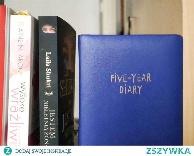 Jeden powód, dla którego warto prowadzić dziennik pięcioletni (5 years diary)