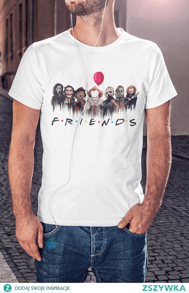 Koszulka z grafiką inspirowaną kultowymi horrorami. Kliknij w zdjęcie aby przenieść się do sklepu :)