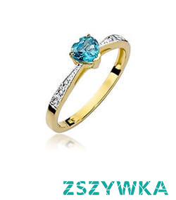 Złote pierścionki ze szmaragdem