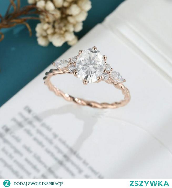 pierścień zaręczynowy #piękny #DLANIEJ