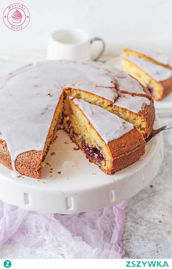 Proste ciasto z dżemem - Najlepsze przepisy | Blog kulinarny - Wypieki Beaty