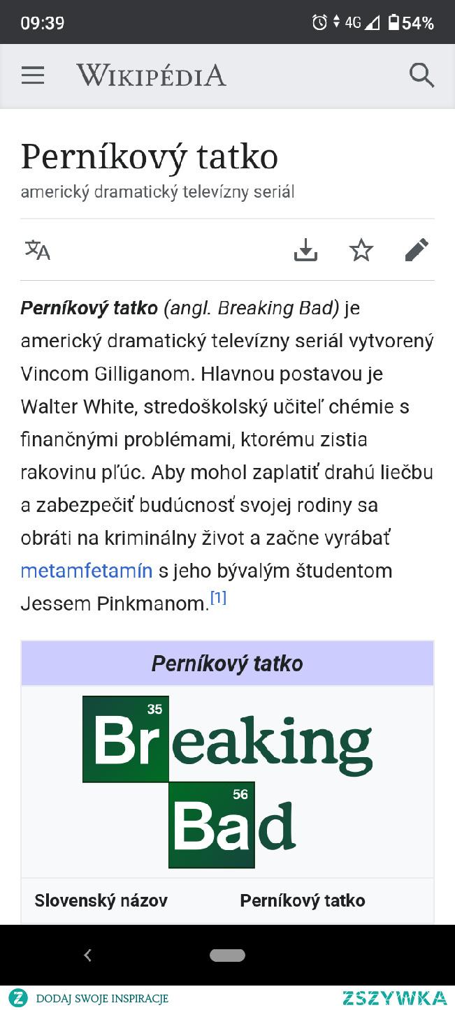 Ten język słowacki to jednak jest wyjątkowy :-) #breakingbad #jezykslowacki #pernikovytatko