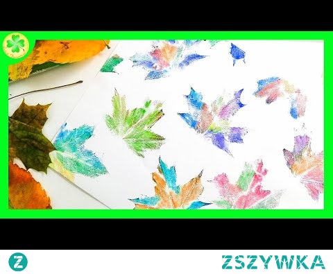 Jak zrobić: Stemple z Liści | DIY Tutorial