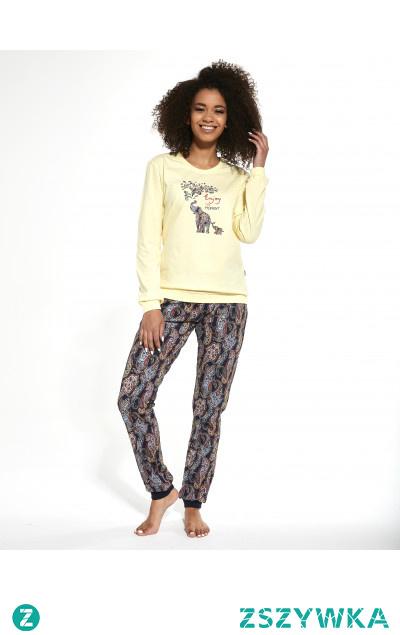Wygodna piżama damska od Cornette - wysoka jakość, kobiecy styl i pełen komfort. Sprawdź na Cornette.pl