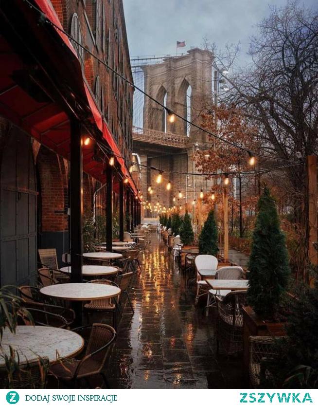 #deszczowy #jesienny #NowyJork #kocham ♡