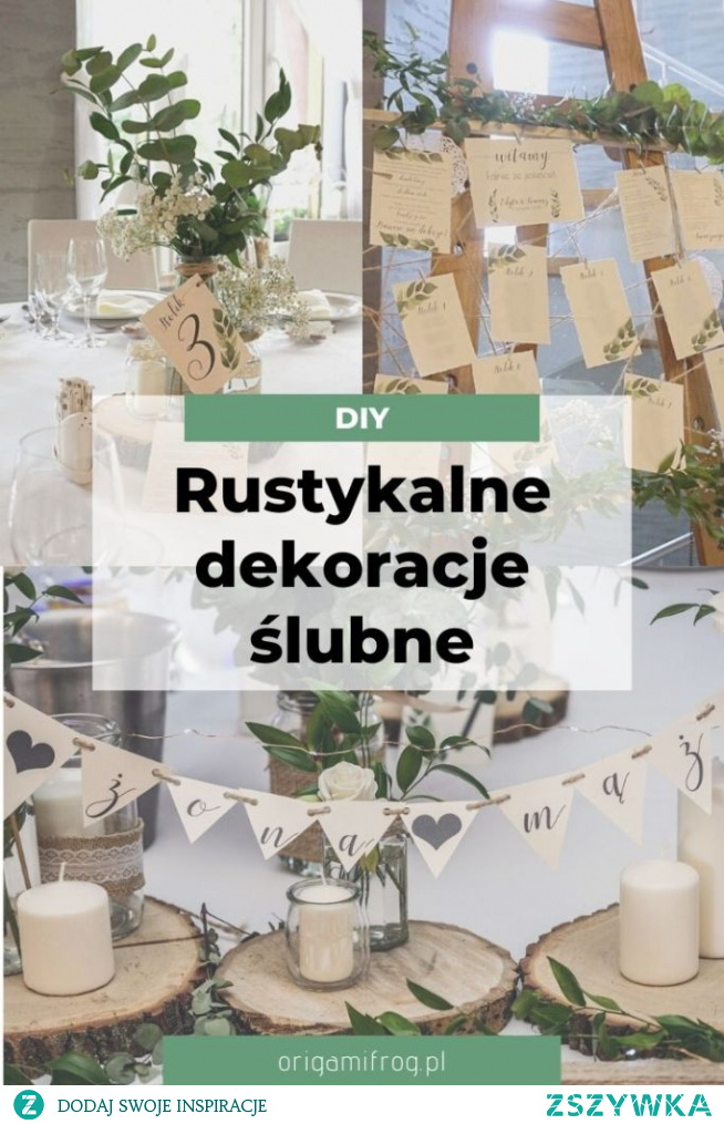 Zrób to sam - rustykalne wesele Nasze dekoracje ślubne: zaproszenia, papetereria, księga gości, plan stołów, dekoracje na stołach. Dużo zdjęć i inspiracji z naszego rustykalnego wesela :)