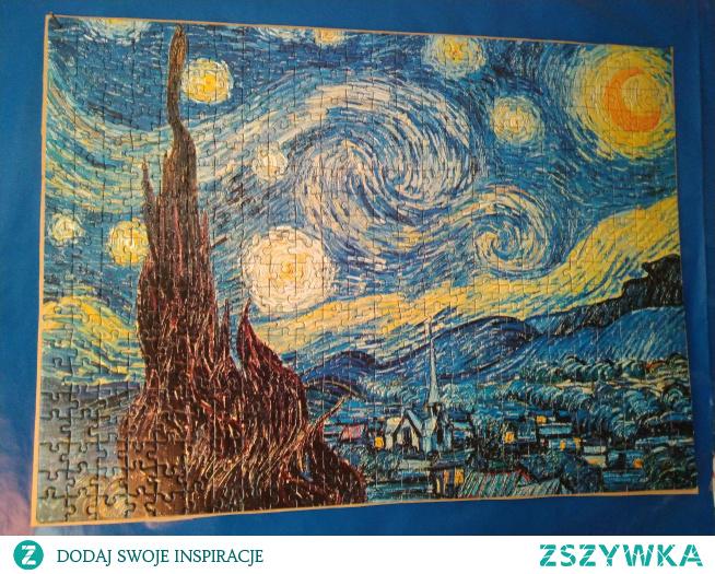 "Puzzle ""Starry night"" van Gogha, 500 el."