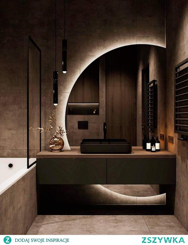 #łazienka #brązy