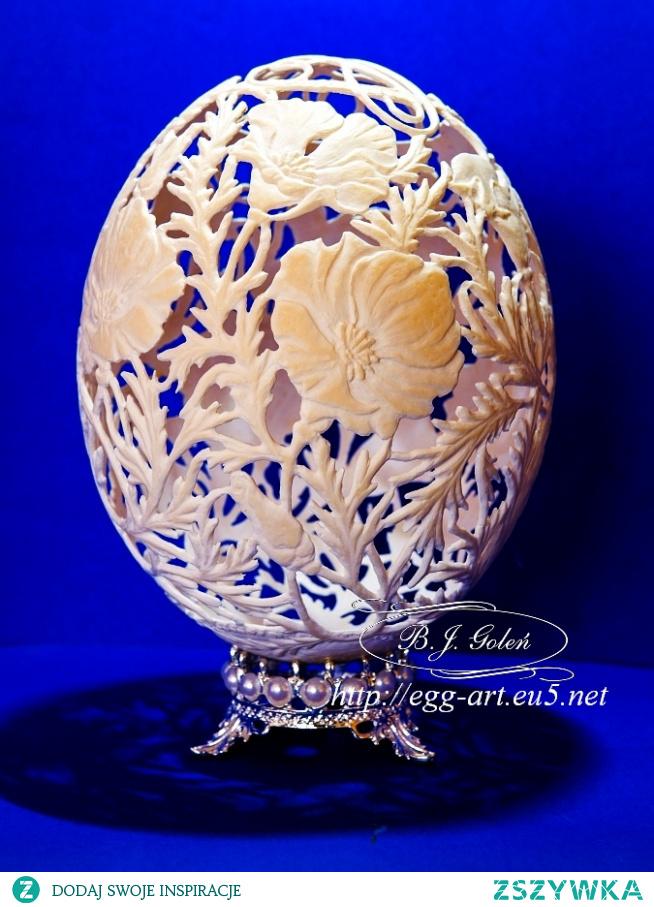Strusie jajo - dla Alicji