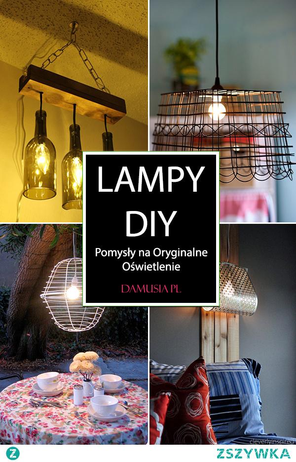 Piękne Lampy DIY – Proste Pomysły na Oryginalne Oświetlenie