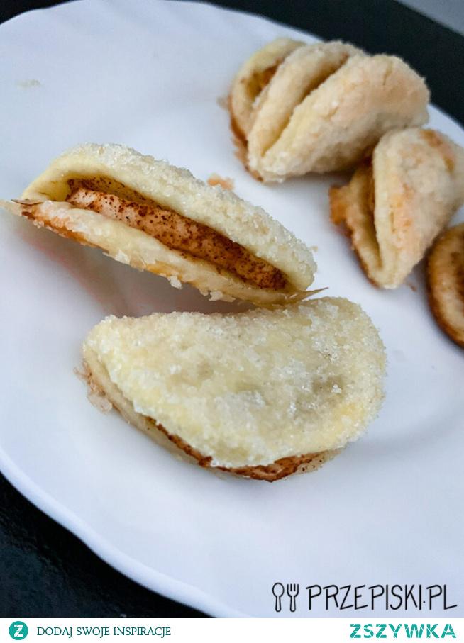 Ciastka Gęsie Łapki z Jabłkiem