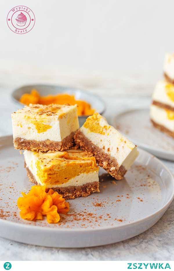 Marmurkowy sernik dyniowy - Najlepsze przepisy   Blog kulinarny - Wypieki Beaty