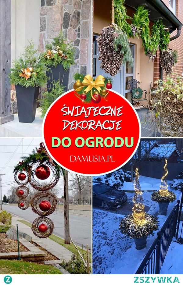 Świąteczne Dekoracje do Ogrodu – Sprawdź Jak Udekorować Swój Ogród na Święta!