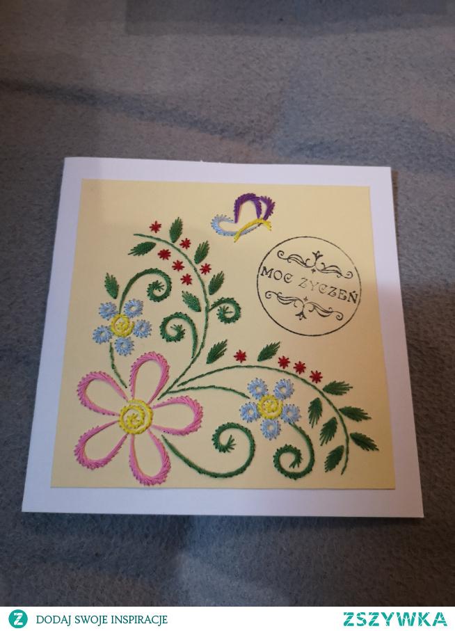 Kartka urodzinowa #kartka #urodziny #handmade