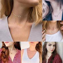 JUJIE minimalistyczny naszyjnik łańcuch Choker dla kobiet klasyczny stal nierdzewna 316L naszyjniki biżuteria hurtowych/Dropshipping.