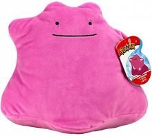 Pluszowa przytulanka dla dzieci ditto pokemon go, w kolorze różowym. Miła w dotyku!  Kupisz ją w naszym sklepie online.