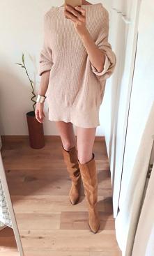 Sweter sukienka TkMaxx po s...