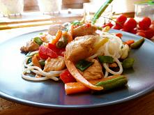 Orientalne danie z indyka z policzonym makro :)  Makro i kaloryczność – 770 kcal B 36/ W 106 / T 22