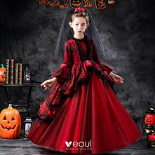 Halloween Cosplay Czerwone ...