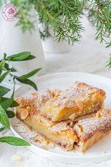 Malinowa tarta bakewell - N...