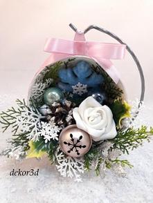 Dekoracja świąteczna, rękodzieło. Oferta aktualna ,do kupienia na Allegro.