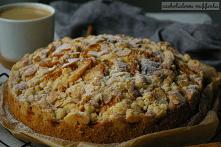 Ciasto ucierane z jabłkami ...