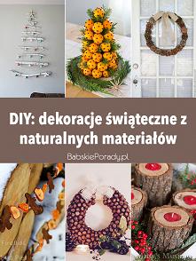 DIY: dekoracje świąteczne z...