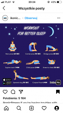 ... #exercise #sleep_well