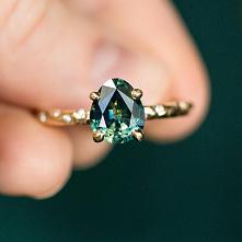 #pierścionek #zielony #biżuteria