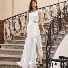 Wysokiej Klasy Białe Sukien...